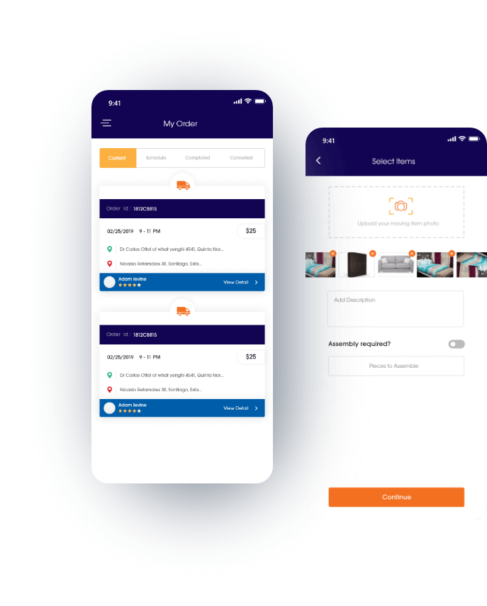 on demand logistics app