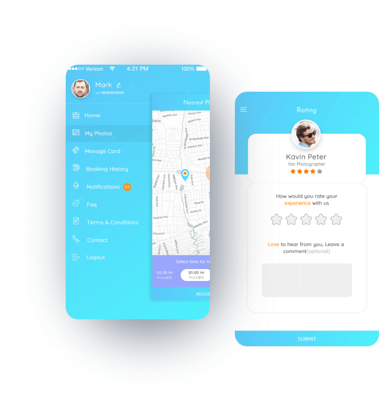 World's First Selfie Assistant Mobile App