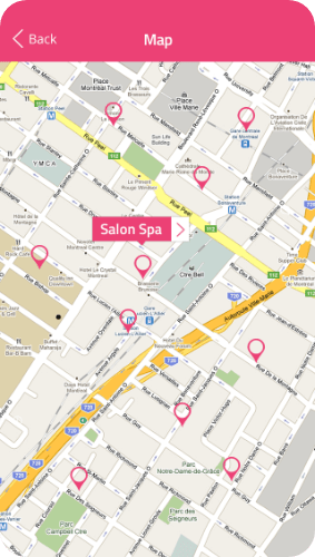 On-demand salon mobile app development