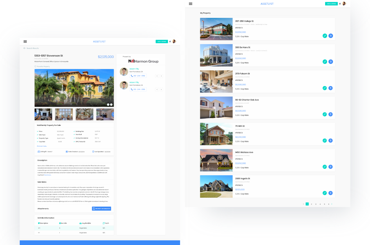 real estate web application