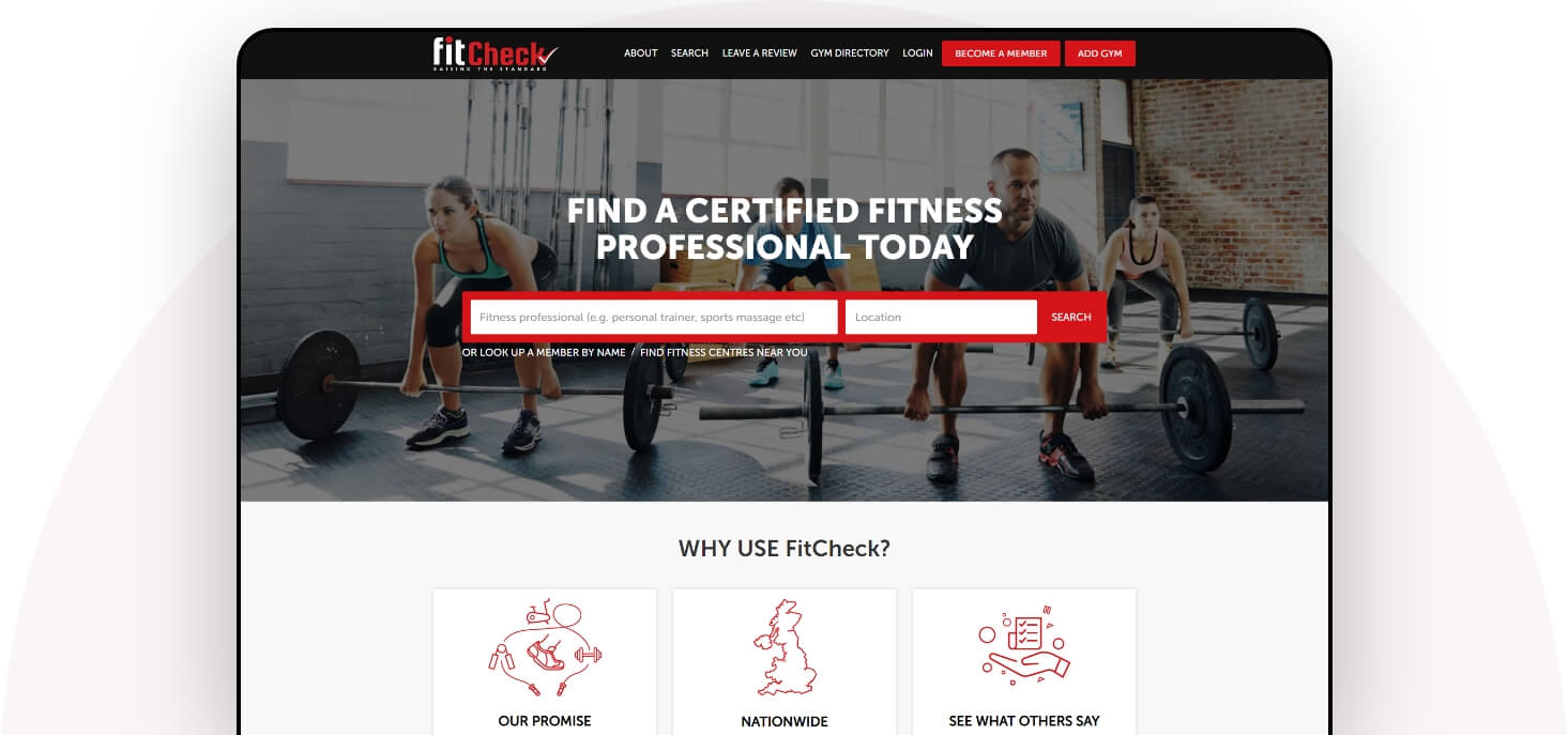 fitness web solutions